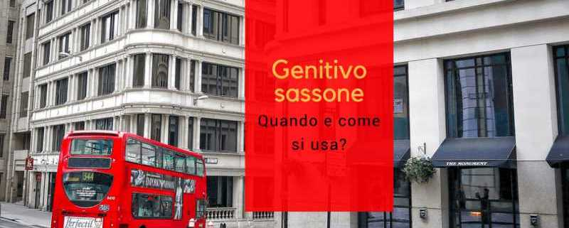 Genitivo sassone: come si usa?
